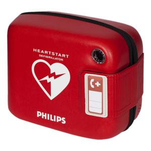 Philips Heartstart FRx tas (rood)