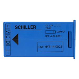 Schiller FRED easy batterij