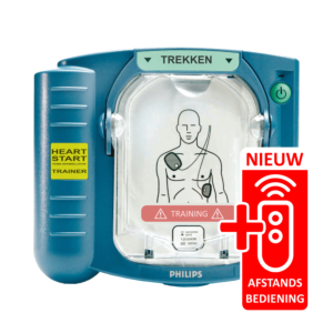Philips Heartstart HS1 AED-trainer met afstandbediening