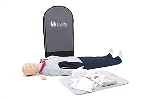 Laerdal Resusci Anne First Aid  Full Body trolley