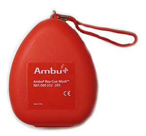 Ambu Rescue Mask met O2 inlaat, hardcase