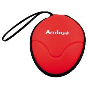 Ambu Rescue Mask beademingsmasker softcase met O2 ventiel