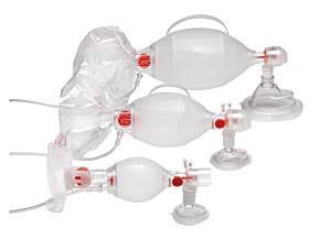 Ambu SPUR II met afneembaar zuurstofreservoir voor demand valve aansluiting en masker #5