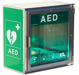 Claus Andersen AED buitenkast