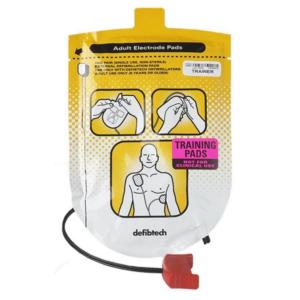 Defibtech Trainingselektroden volwassenen (1 set)