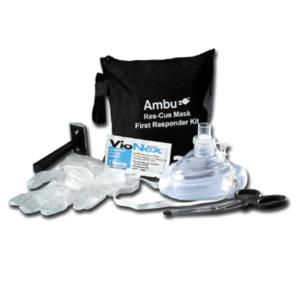Ambu rescue mask first responder kit