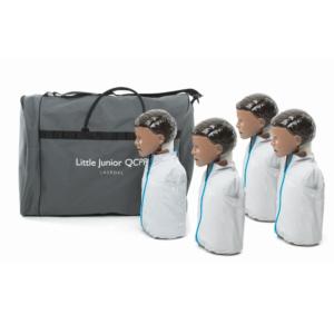 Laerdal Little Junior QCPR 4-pack (donker)