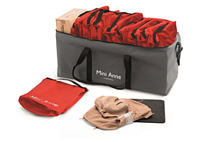 Laerdal Mini Anne Plus Unicolor , set van 10