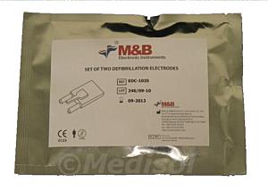 M&B AED7000 elektroden