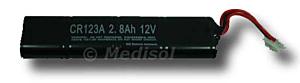 M & B AED7000 batterij