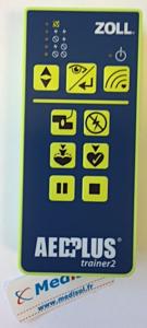 Zoll AED Plus trainer afstandsbediening