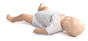 Laerdal Resusci baby met QCPR
