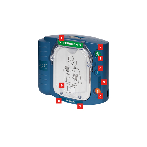 Philips HS1 AED